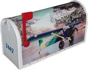 Personalized Airplane Mailbox